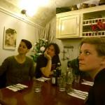 Dinner im Keller