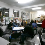 Meeting im solidarischem Center