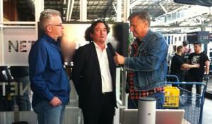 Interview mit den Boys vom IBM Stand