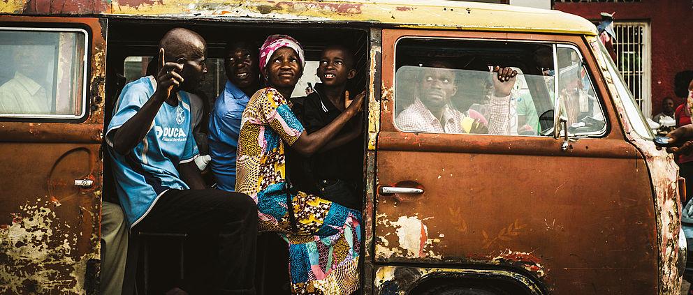 Megalopolis – Stimmen aus Kinshasa /Kongo